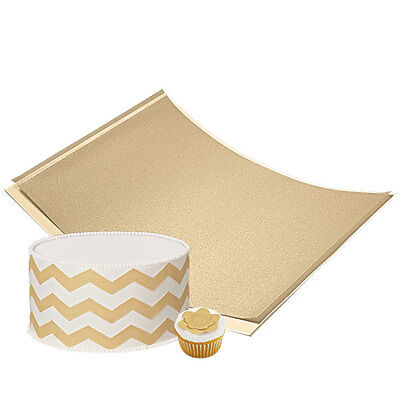 Wilton Edible Decorating Paper - Gold