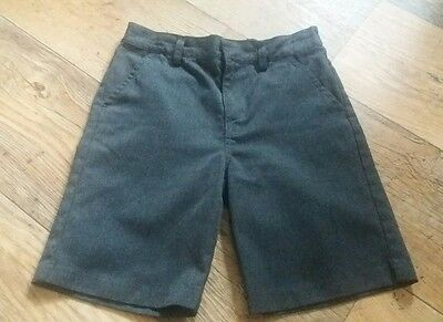 Boys NEXT grey school shorts age 8