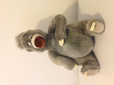 Disney Baloo Plush toy The Jungle Book Disney Store