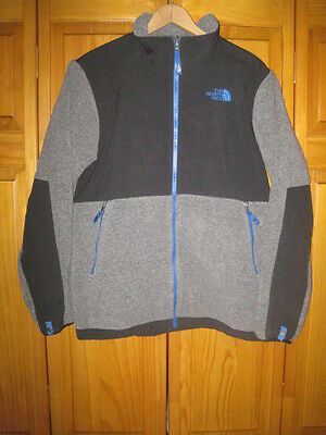 The North Face fleece jacket kids boys XL gray black camping hiking outdoors