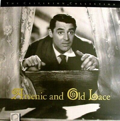 ARSENIC AND OLD LACE CRITERION CLV NTSC LASERDISC Frank Capra / Cary Grant