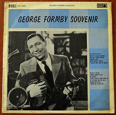 George Formby – George Formby Souvenir LP – ACL 1062 – VG-