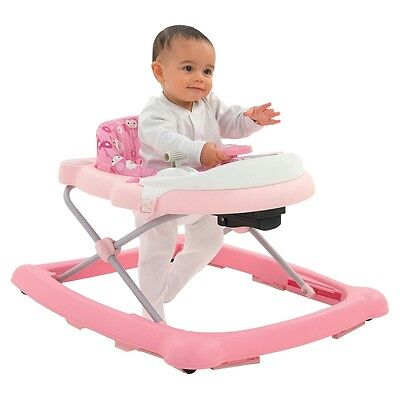 Graco Pink Activity Walker, Adjustable Musical Baby Activity Toy Lights & Sounds