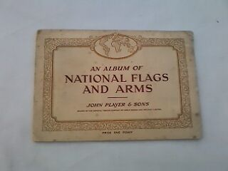 John Player & Sons 'An Album of National Flags and Arms' Cigarette Cards