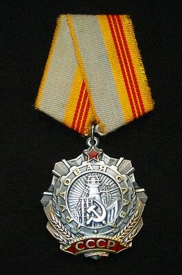 "Order. Medals.""Labor Glory 3 degree"" USSR. 37 grams of silver. 1960-70"