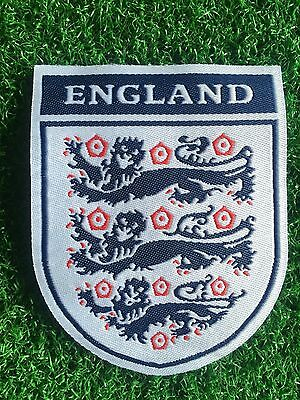 England.....iron / Sew On Embroidered Team Crest....3 Lions