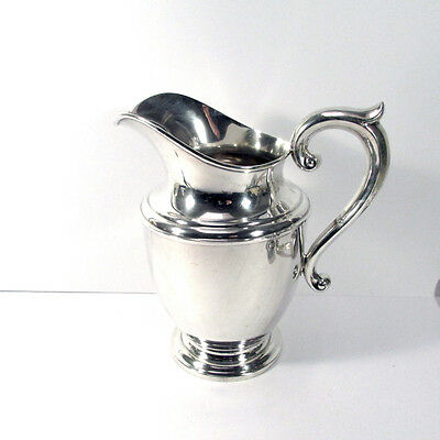 Antique Whiting Sterling Silver Water Pitcher