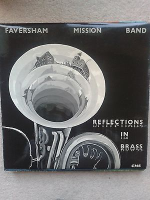 "FAVERSHAM MISSION BAND ""REFLECTIONS IN BRASS"" RARE PRIVATE PRESS LP Nr Mint"