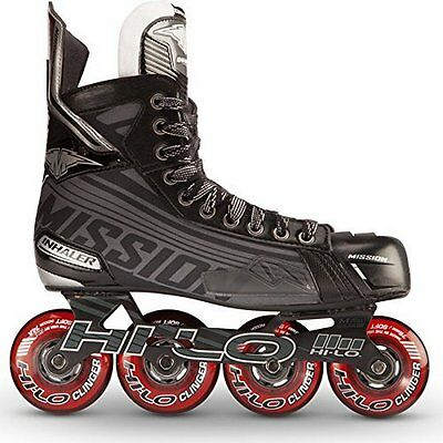 Mission Inhaler DS:5 Senior Inline Hockey Skates, 12.0 E