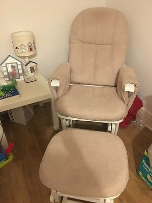 Tutti Bambini Glider Chair And Stool