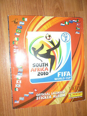 Fifa World Cup Africa 2010 Complete Stickers Album Panini
