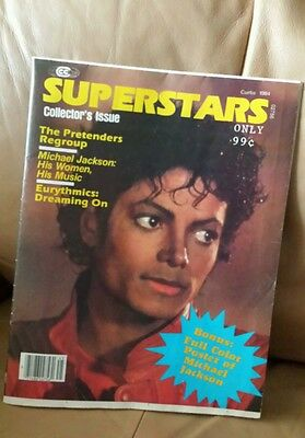 Superstars Michael Jackson 1984 Collectors Issue