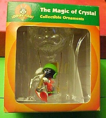 Marvin the Martian Magic of Crystal Hot Air Balloon with Looney Tunes box