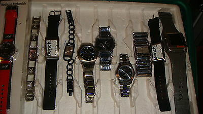 TRADE ONLY JOB LOT OF 10 X  MIXED PROTOTYPE  WATCHES 100% gen, ,,
