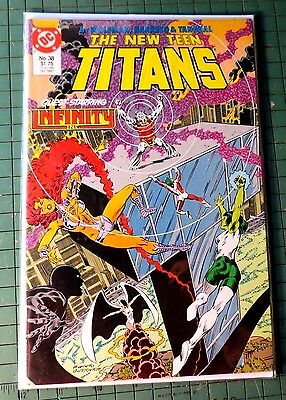 The New Teen Titans #38 DC Copper Age Comic CB1003