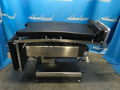 Amsco Surgical Model 2080 OR Table with Radiographic Top