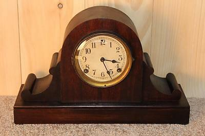 Antique Sessions 8 Day Time and Strike Mantle Clock ~RUNS~