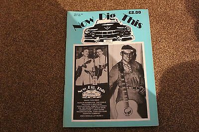 Now Dig This Issue 98 May 1991 Rock & Roll magazine feat Marvin Rainwater