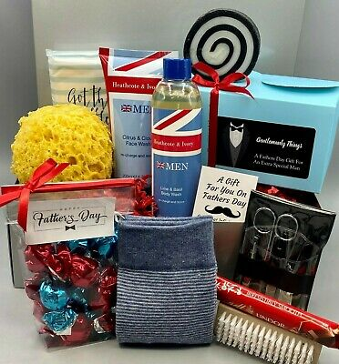 Couples Luxury Christmas Tea Hamper Gift Box Biscuits Treats Mum & Dad / Friends
