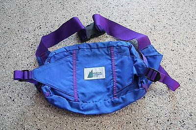 Vintage Mountain Equipment Co-Op  Lumbar Fanny Pack Hiking Outdoor Retro Large
