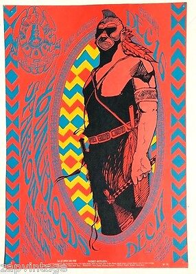 Vtg 1966 The Youngbloods Sparrow Son Of Champlin Concert Poster No. 39