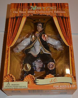 """Vintage NSYNC JC Chasez 6 1/2"""" Marionette Collectible Doll 90's Boy Band"""