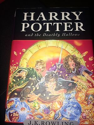 Harry Potter And The Deathly Hallows Hardback Book