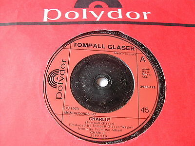 Tompall Glaser - Charlie - Polydor Records 7""