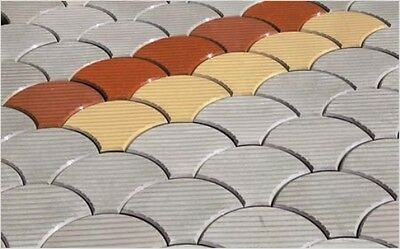 Paver stepping stone molds PS 28044/1. Pavement Stone, Paving mold