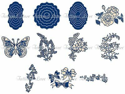 Tattered Lace - Whitework Collection - Brand New 2017 - In Stock - FREE UK P&P