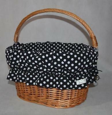 New Bicycle Wicker Basket Lining.
