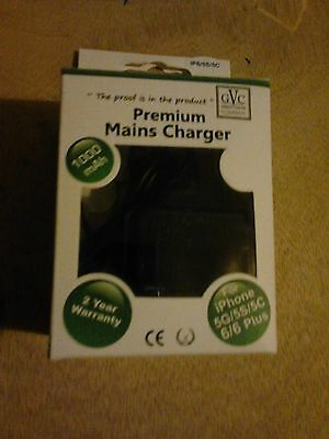 mains charger for iPhone 5G/5S/5C 6/6 plus