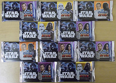 Star Wars ~ Force Attax 2017 Universe ~ Topps Trading Cards ~ 10 x Sealed Packs