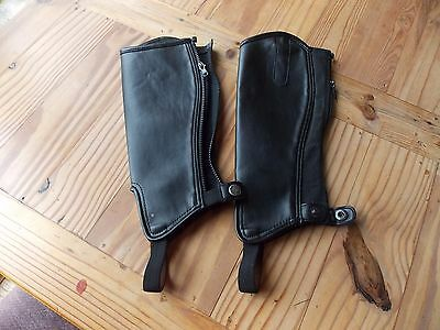 Childs chaps Shires Large size never worn