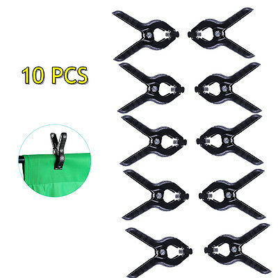 10 Pcs Photo Studio Light Photography Background Clips Backdrop Clamps A Type