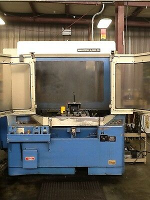 1991 Mazak H500/50 Horizontal Machining Center, CAT 50, 1 Degree Index, 2 Pallet