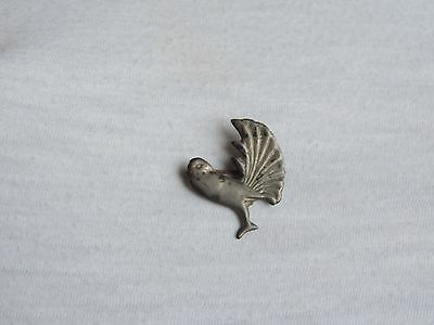 Vintage Bird Brooch Pin Jewelrty marked Mexico Silver (xx843)