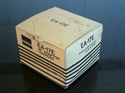 Sharp EA-17E AC Adaptor / Charger in box. Power pac