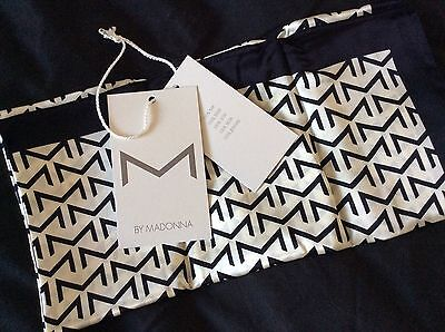 """MADONNA SILK NECK SCARF from the 2007 H&M COLLECTION """"M by Madonna"""""""