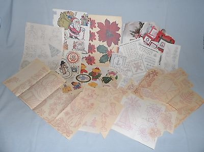 Hand Embroidery Transfers & Iron-ons from the 1970's