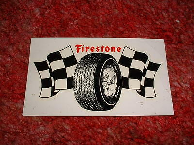 Firestone Tires racing decal