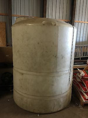 1000 Gal Poly Ibc Tank Water Storage Containment Vertical With Float