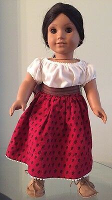 American Girl Doll JOSEFINA Pleasant Company 18 inch doll earrings Mexican doll