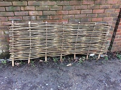 Hazel Hurdle Fencing  2ft-2.3ft High panels x 8