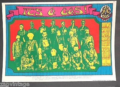 1968 It's A Gas Quicksilver Messenger Service, Charlatans It's a Beautiful Day