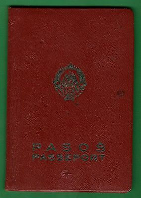 Yugoslavia Old Passport 1965