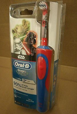 Braun Oral-B Stages Vitality Kids Electric Toothbrush for Children - STAR WARS