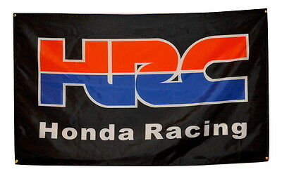 HRC Flag 3x5 Honda Racing Company Banner Poster Motorcycle 600rr 1000rr Repsol