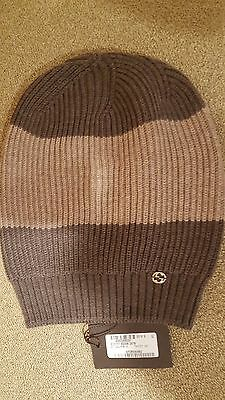 NWT Authentic Gucci Unisex Multi-Color 100% Wool Beanie Hat One Size