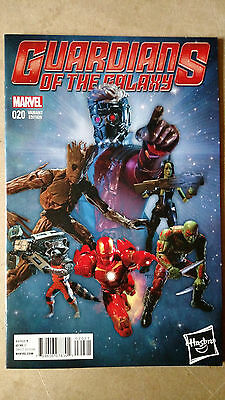 Guardians Of The Galaxy #20 1St Print Action Figure Variant Marvel (2014)